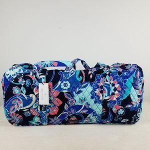 Vera Bradley Large Duffel Bag Lotus Flower Swirl